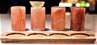 tequila shot glasses holiday gift idea drinks another view tequila shot glasses pink salt