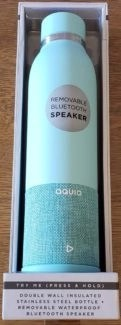 (c) 2018 alison blackman aquio water bottle with speaker a luxe holiday gift idea