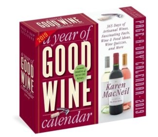 a year or good wine calendar for 2019