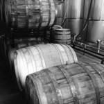 Barrels at Bull Run Distilleries