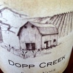 Dopp Creek Wine Label