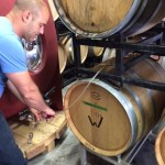 Barrel Tasting with JM Bouchard
