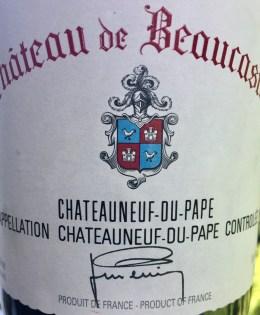 1998 Château de Beaucastel Châteauneuf-du-Pape