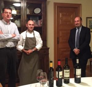 Rioja spain michelin dinner