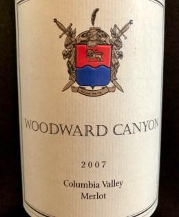 2007 Woodward Canyon Merlot