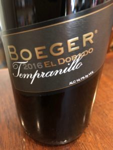 El Dorado County wine