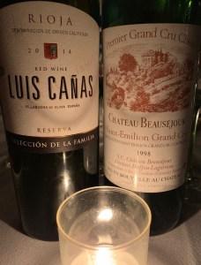 spanish and french wine
