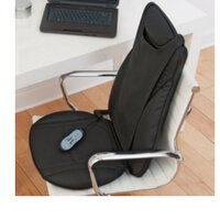 Brookstone INeed Shiatsu Seat Topper with Heat