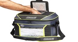 Coleman 9 lunch cooler for construction workers and travelers