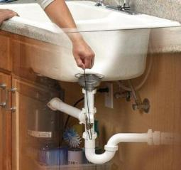sink unclog with Cable Hook