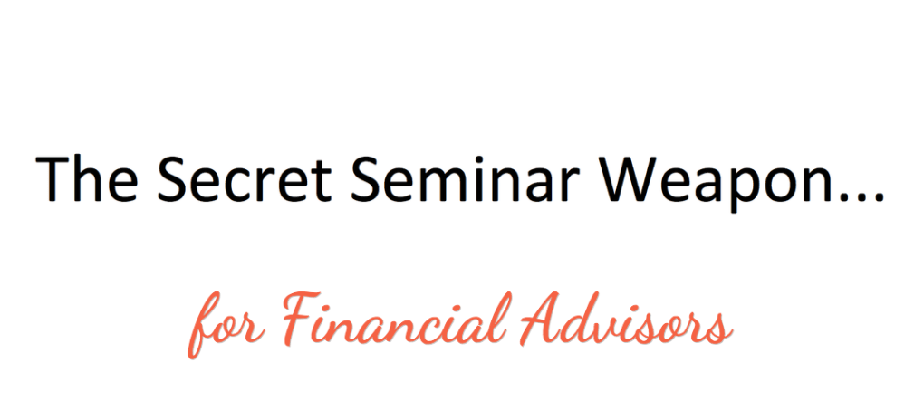 double your seminar appointments