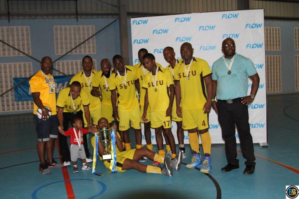corporate warfare futsal team group photo