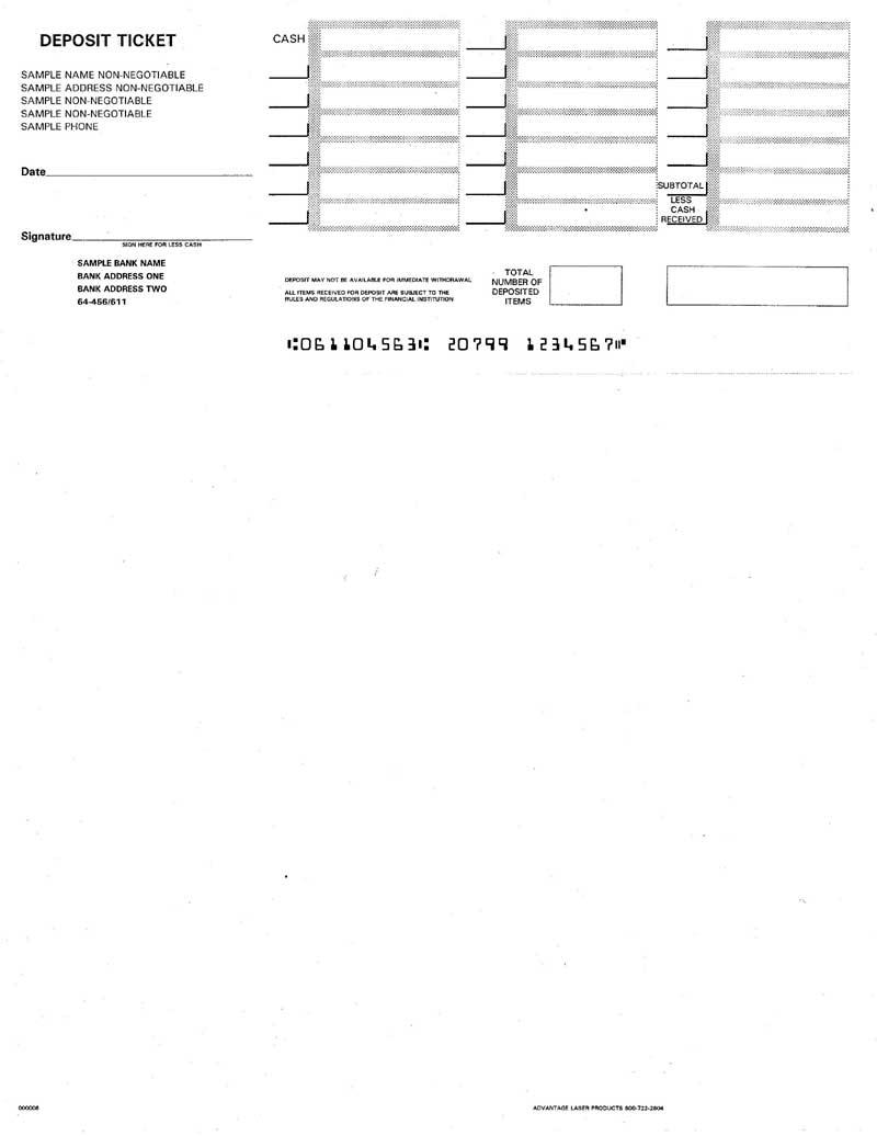 250 deposit slip for quickbooks template : sarvwheldie