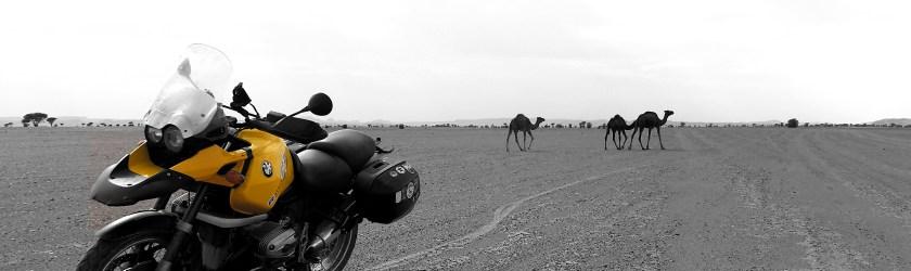 Marruecos en BMW, con maletas y a lo loco