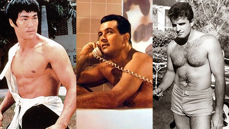 Hollywood Hunks Laid Bare 1960s1970s