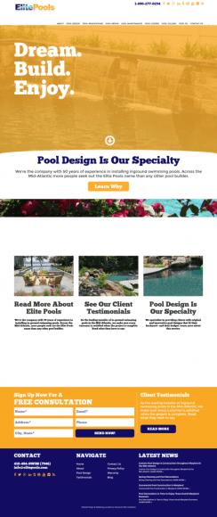 Elite Pools Home