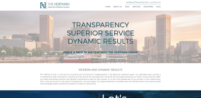 New Website Launch: The Hoffman Group