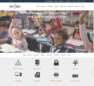 New Website Launch: En-Net Services