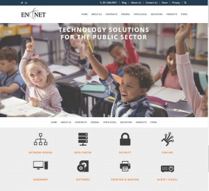 New Website Launch: En-Net Services