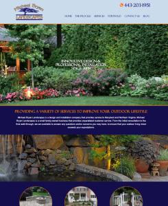 New Website Launch: Michael Bryan Landscapes