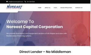 New Website Launch: Noreast Capital Corporation