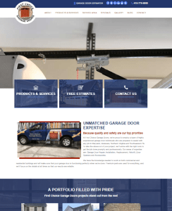 New Website Launch: First Choice Garage Doors