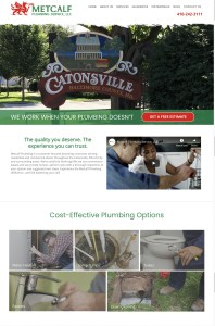New Website Launch: Metcalf Plumbing Service