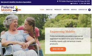 New Website Launch: Preferred Mobility