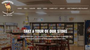 Website Launch: Timbuktu Liquor and Deli