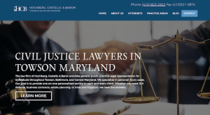 Website Launch: Hochberg, Costello, and Baron