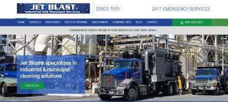 Website Launch Jet Blast Adventure Web Interactive