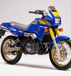 1988 yamaha tdr250 adventure bike courtesy motorcyclespecs co za  [ 1024 x 768 Pixel ]
