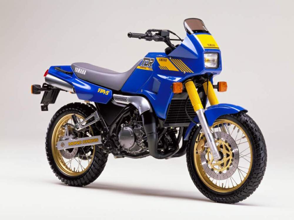 medium resolution of 1988 yamaha tdr250 adventure bike courtesy motorcyclespecs co za