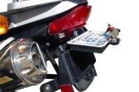 Secret Stash Box Mounts Behind Your License Plate - ADV Pulse