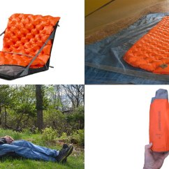 Inflatable Camping Chair Rentals In Brooklyn Sea To Summit Ultralight Camp Mattress Combo Review The Air Is A Lightweight Strap And Harness System That Turns Your Sleeping Mat Into Comfortable
