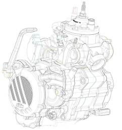 diagram of ktms newly developed 2 stroke fuel injection engine [ 1200 x 1200 Pixel ]