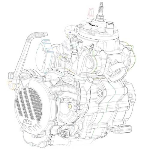small resolution of diagram of ktms newly developed 2 stroke fuel injection engine