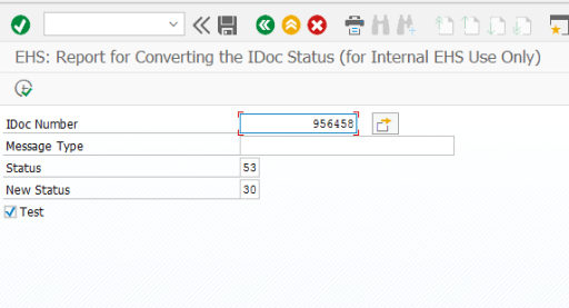 Execution of RC1_IDOC_SET_STATUS