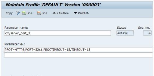 Add profile parameter