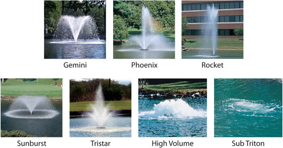 Aerators & Fountains