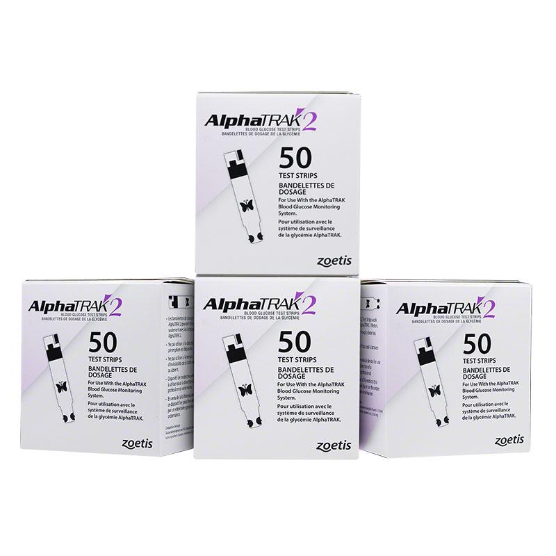 Buy AlphaTRAK 2 Glucose Test Strips 300 Count | ADW Diabetes