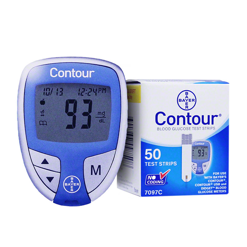 Free Contour Meter with Purchase of 50 Test Strips at ADW ...