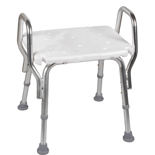 chair without back stool photo buy mabis dmi shower shop online