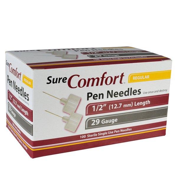 Surecomfort Mini Pen Needles Adw Diabetes