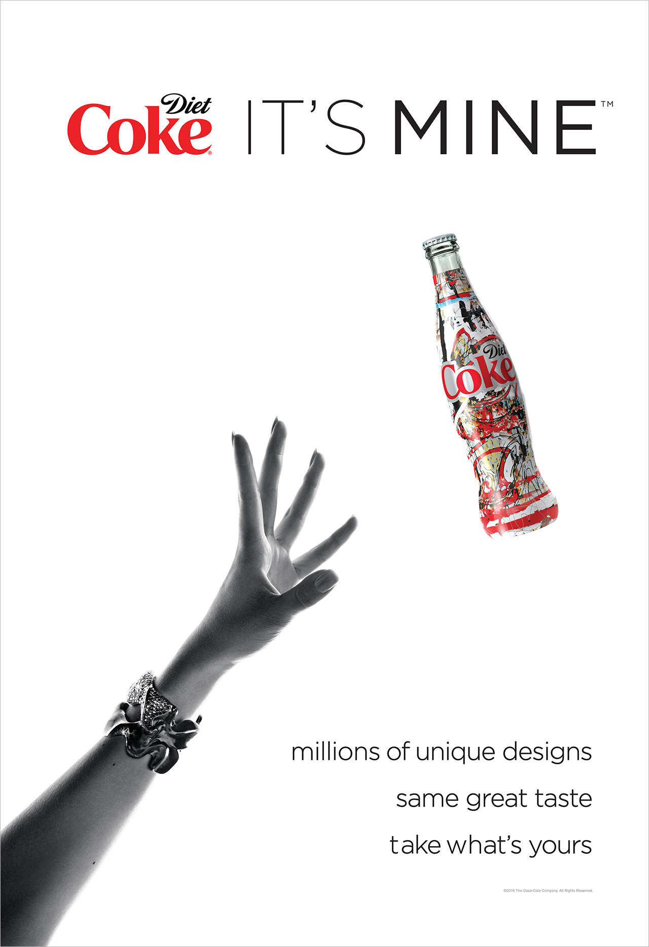 Diet Coke Prints Literally Millions of Unique Labels for New Its Mine Campaign  Adweek
