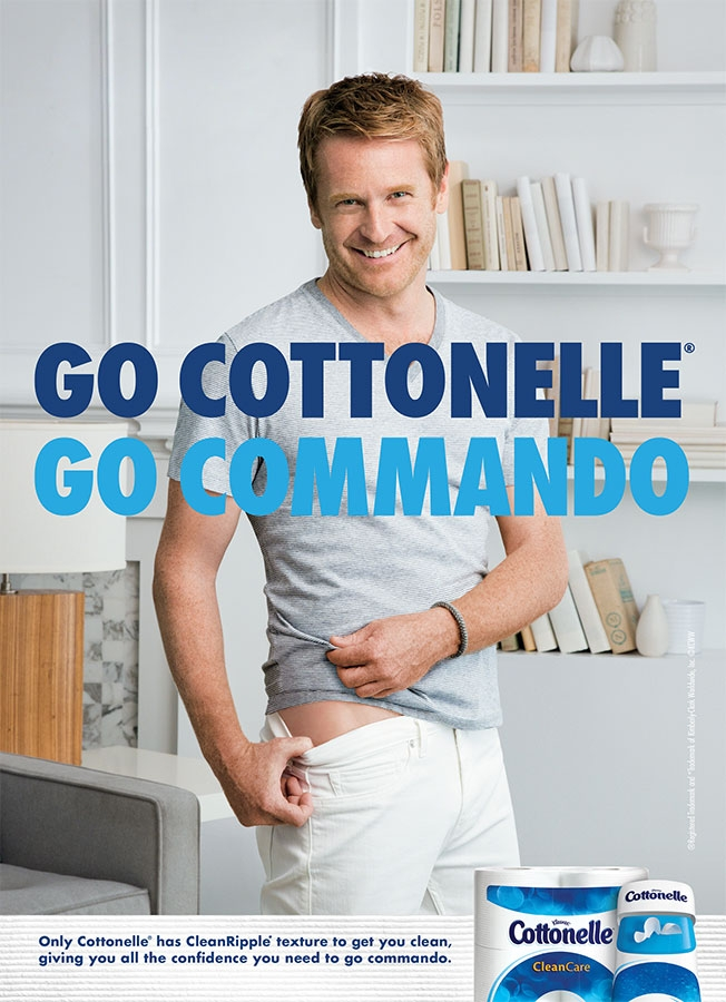 Cottonelle Wants You to Go Commando With a Butt So Clean
