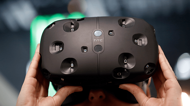 HTC's virtual reality hardware