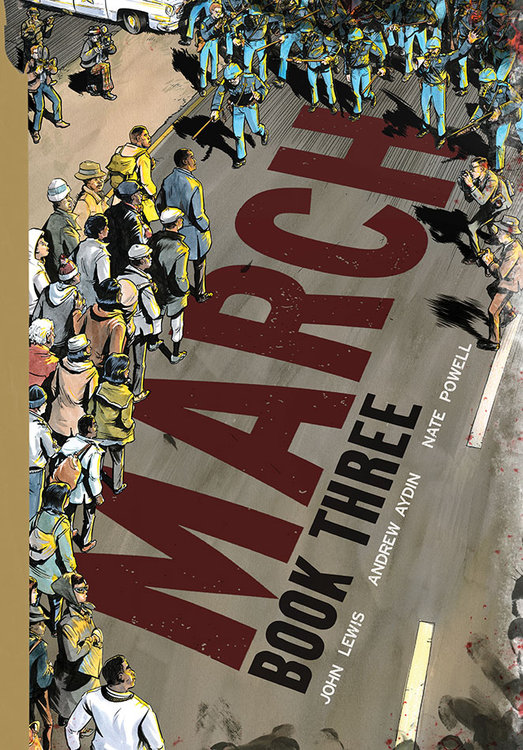 Image result for march graphic novels book 3
