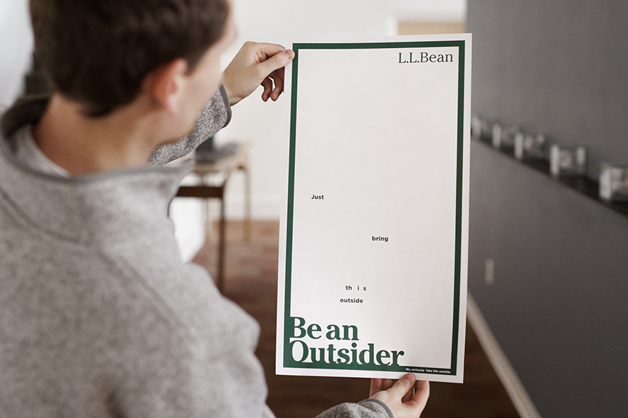 clever new print ad