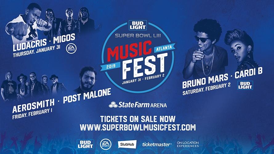 super bowl music festival